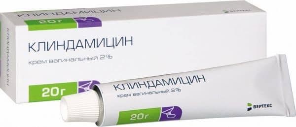 клиндацин гель