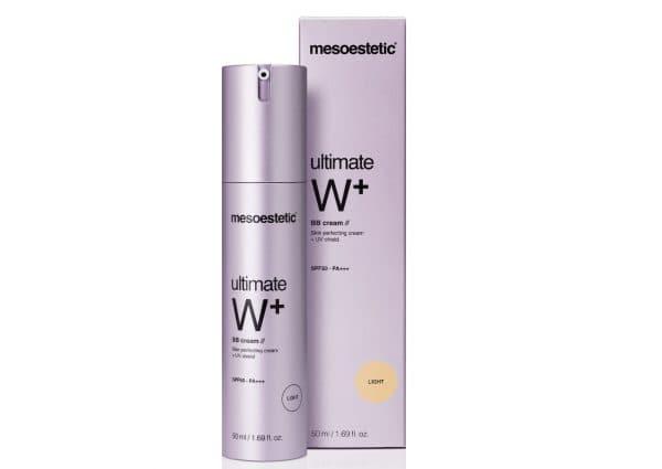 крем Mesoestetic Ultimate W+ BB Cream SPF50