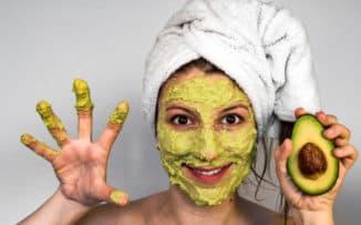 маска из авокадо для лица от морщин
