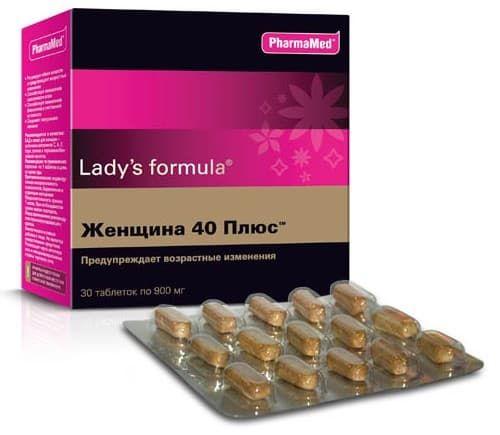 витамины Формула женщины