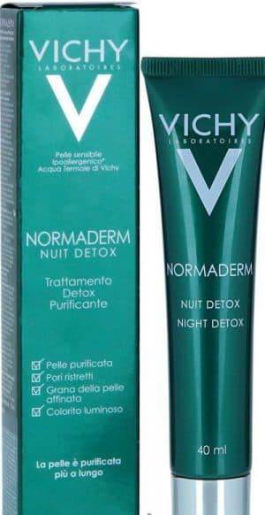 ночной крем Vichy Normaderm Nuit Detox
