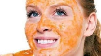 действие моркови на кожу лица