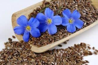 действие масок из семян льна