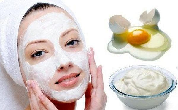 яично-огуречная маска для лица