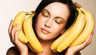 рецепты банановых масок