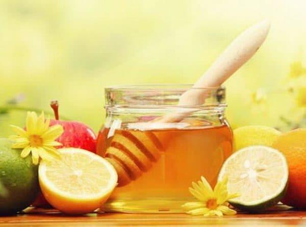 маска из меда и лимоном для лица от прыщей