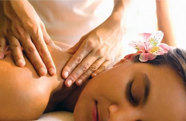 массаж шеи женщине