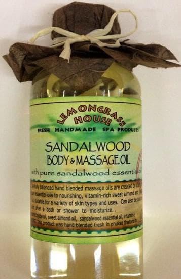 сандаловое масло для массажа