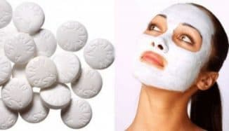 Аспириновая маска для лица от прыщей