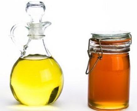 маска из меда и оливкового масла для лица от прыщей