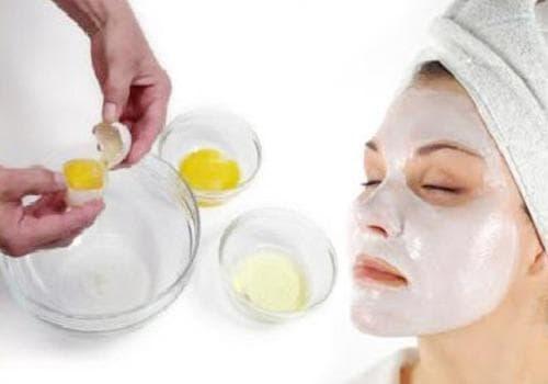 отбеливающая маска для лица с желтком