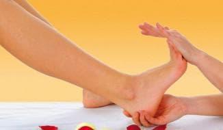 массаж ступней ног точки
