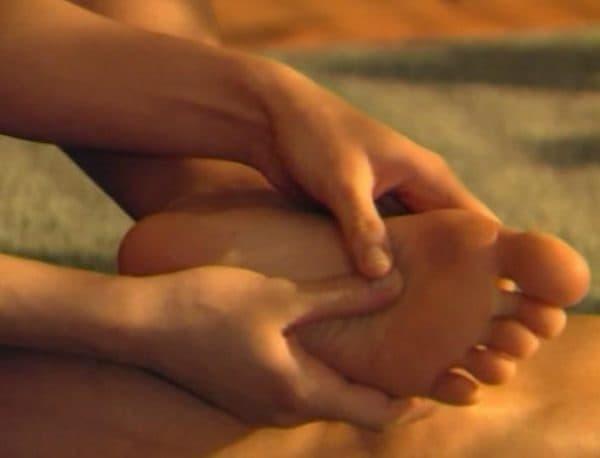 как правильно делать массаж ступней