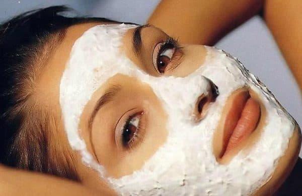 аспириновая маска для лица со сметаной