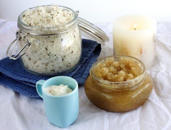 скрабы для лица в домашних условиях риса и оливковое масло