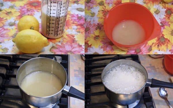 шугаринг дома из сахара и лимона