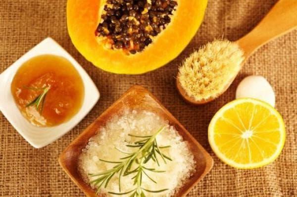 скрабы для лица в домашних условиях сок лимона и сахар мёд
