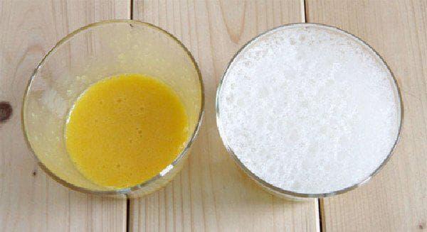 маска из желтка и йогурта