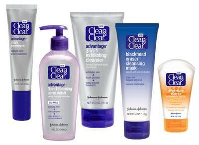 CleanandClear для проблем с кожей