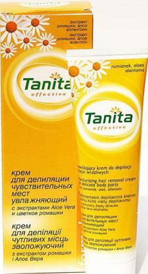 крем для депиляции Tanita