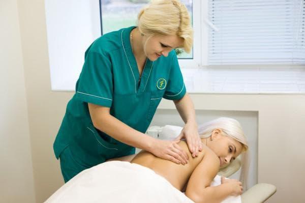 Массаж при остеохондрозе шейного отдела позвоночника видео