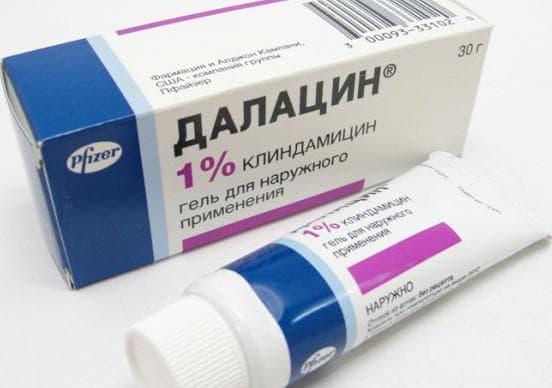 Далацин от прыщей