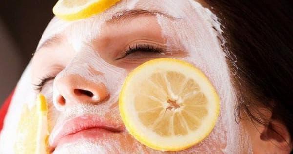 кефирная маска для лица с лимонным соком