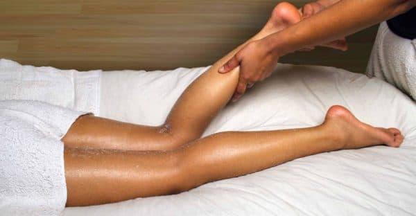 лимфодренажный массаж для ног