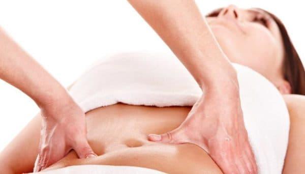 лимфодренажный массаж для живота