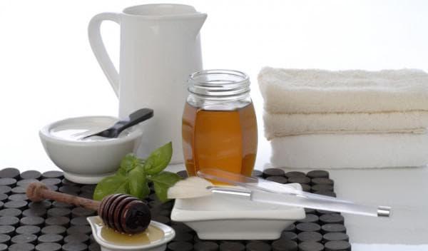 мёд и аспирин для лица