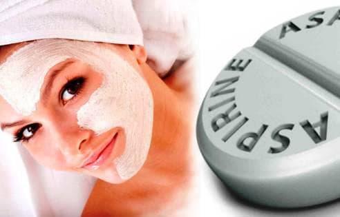 аспирин для лица в маске