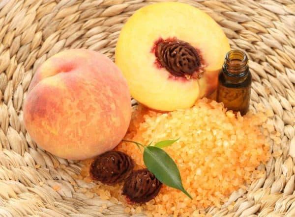 масло персиковое для лица от морщин