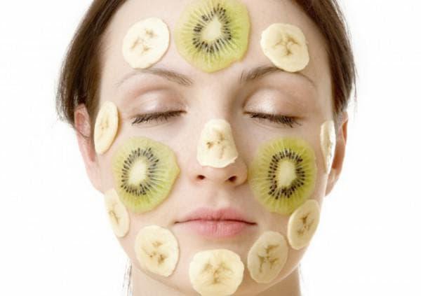 питательная маска для лица с бананом