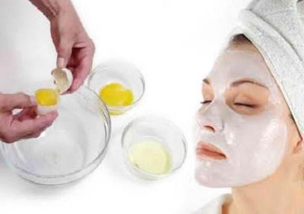 яичный белок и сода для маски для лица