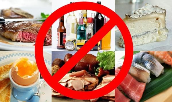 исключить из пищи вредные продукты