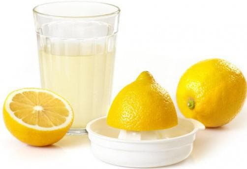 Сок лимона и воду при прыщах