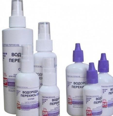 Необходимо каждый день обрабатывать кожу перекисью водорода