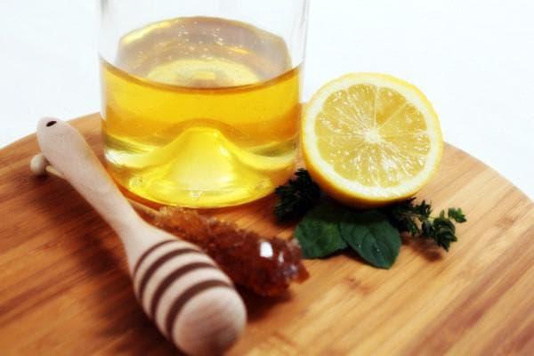 маска на основе меда и лимона