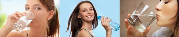 Употребление жидкости, чтобы не допустить обезвоживание организма.