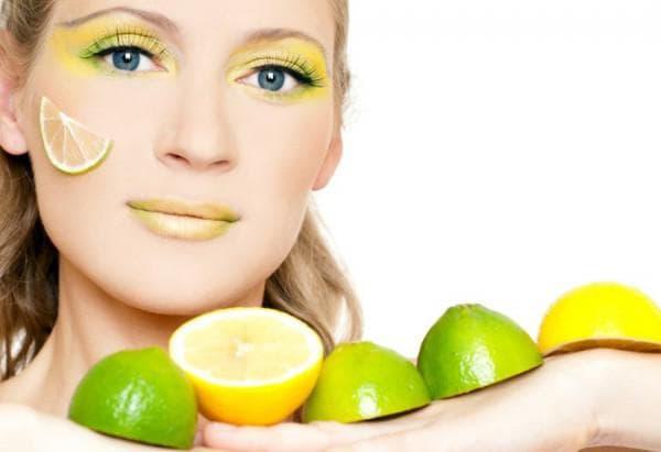 крем из лимона для лица