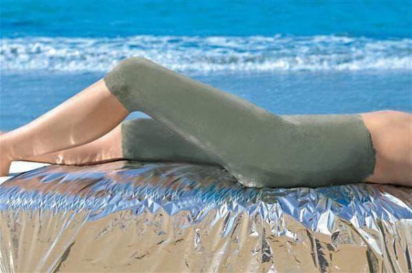 Использование голубой глины от прыщей