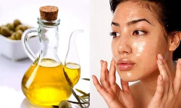 сливик и оливковое масло для маски на лицо