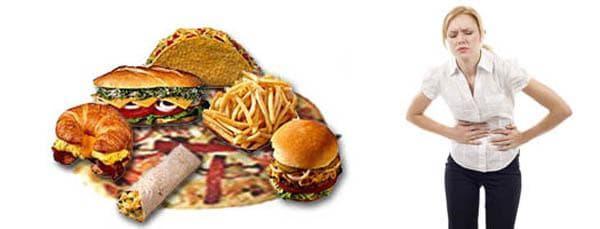 Некорректное питание -вызывает прыщи