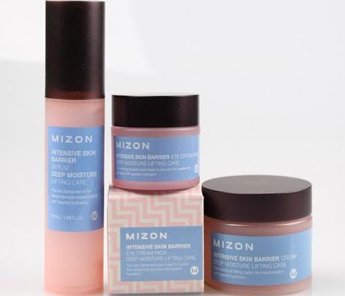 mizon intensive skin barrier eye cream pack