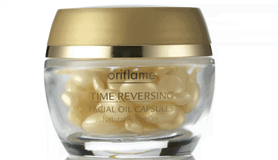 оriflame Time Reversing Facial Oil Capsules