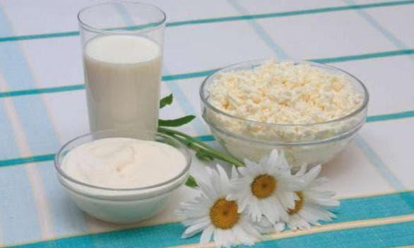Маски и крема, полученные на основе кисломолочных продуктов