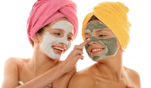 маски из косметической глины