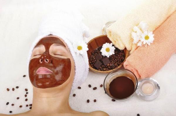маска улучшающая оттенок кожи с кофе