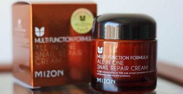 крем Mizon all one snail repair cream