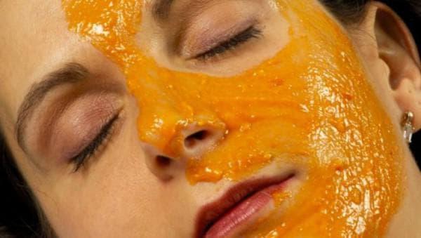омолаживающие маска из тыквы